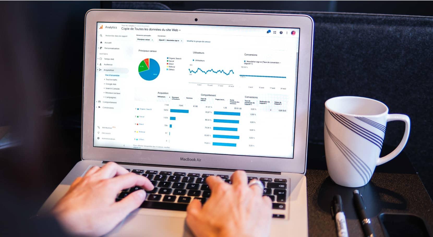 Data et trafic de votre site internet